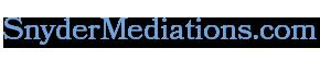 Snyder Mediations | Teddy Snyder